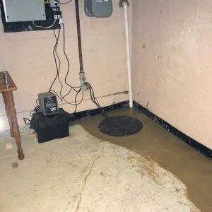 A French drain in a basement. Basement Waterproofing & How Much Does Basement Waterproofing Cost? | Angieu0027s List